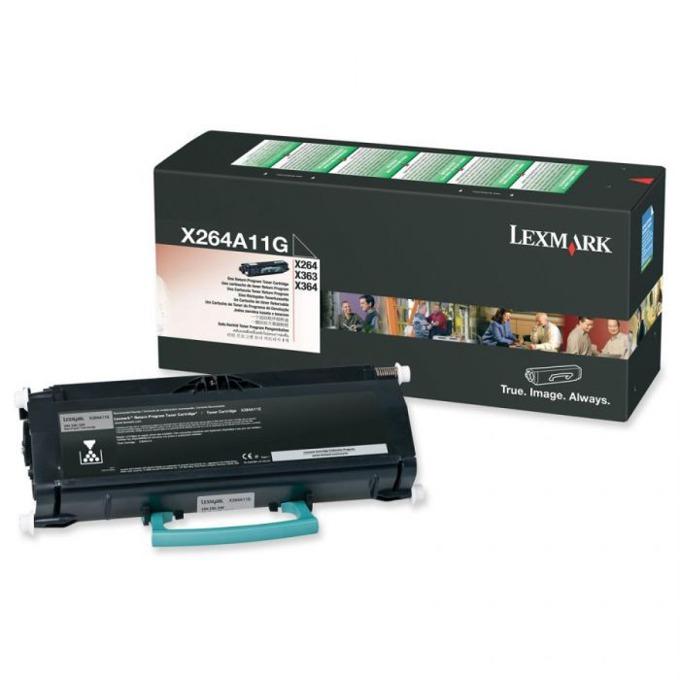 КАСЕТА ЗА LEXMARK X 463/464/466 - Return program cartridge - P№ X463A11G - заб.: 3500k image