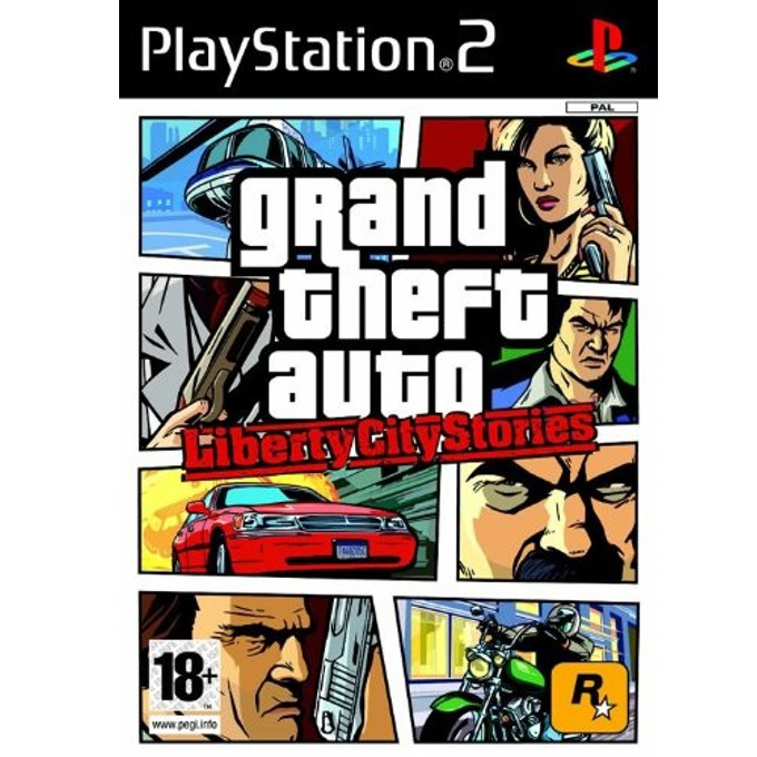 Grand Theft Auto: Liberty City Stories, за PS2 image