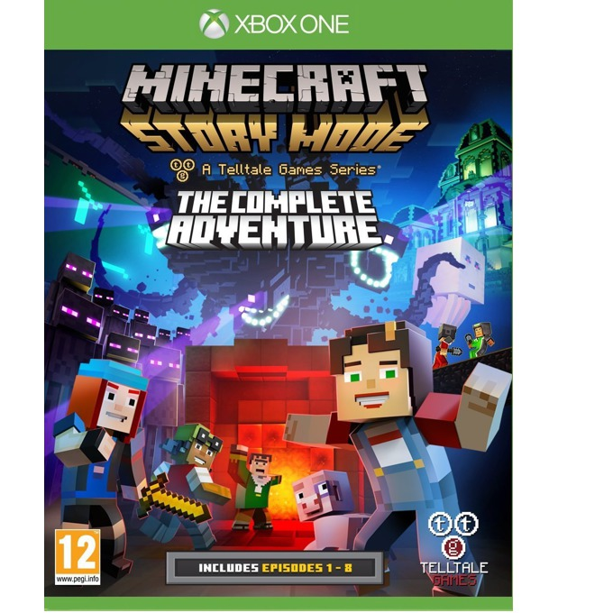 Minecraft Story Mode Complete Adventure, за Xbox One image