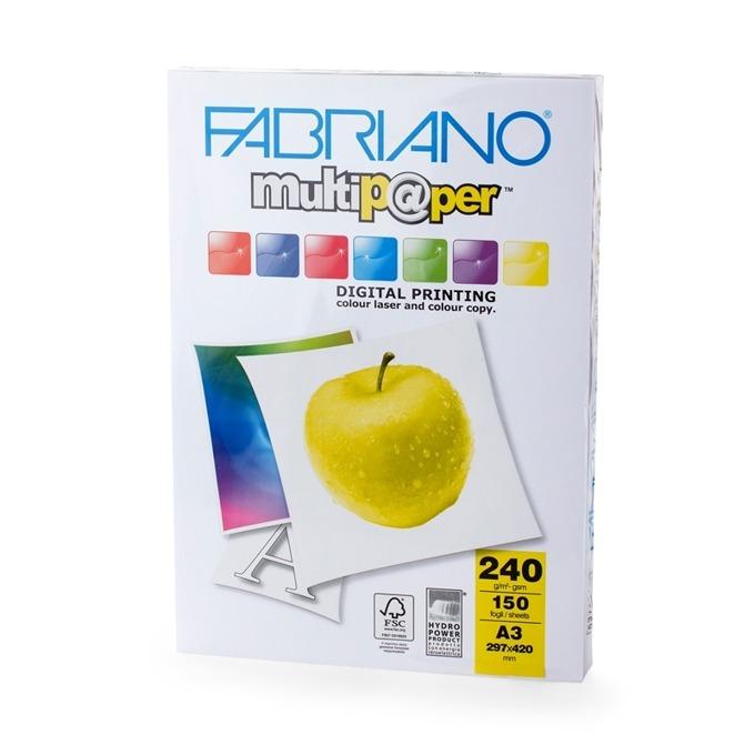 Fabriano Multipaper, A3, 240 g/m2, 150 листа product