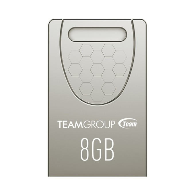 Памет 8GB USB Flash Drive Team Group C156, USB 2.0, сива image
