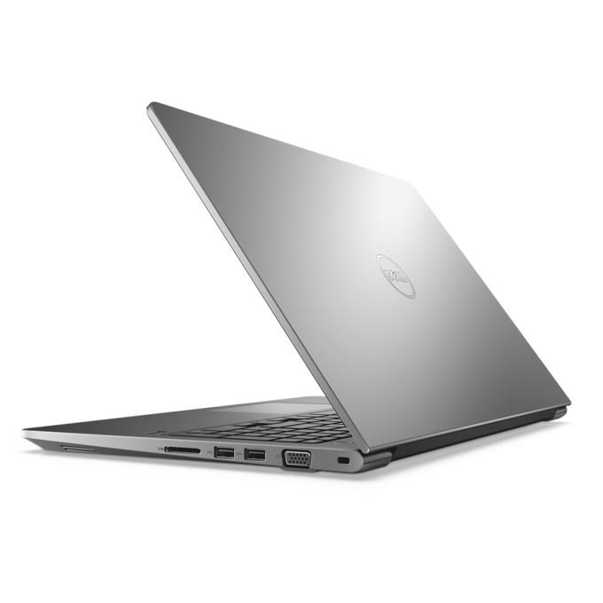 "Лаптоп Dell Vostro 5568 (N061VN5568EMEA01_1905_UBU)(сребрист), двуядрен Kaby Lake Intel Core i5-7200U 2.5/3.1, 15.6"" (39.62cm) Full HD Display & NVidia GeForce 940MX 2GB, (HDMI), 8GB, 256 SSD, 2x USB 3.0, Linux, 1.98kg image"