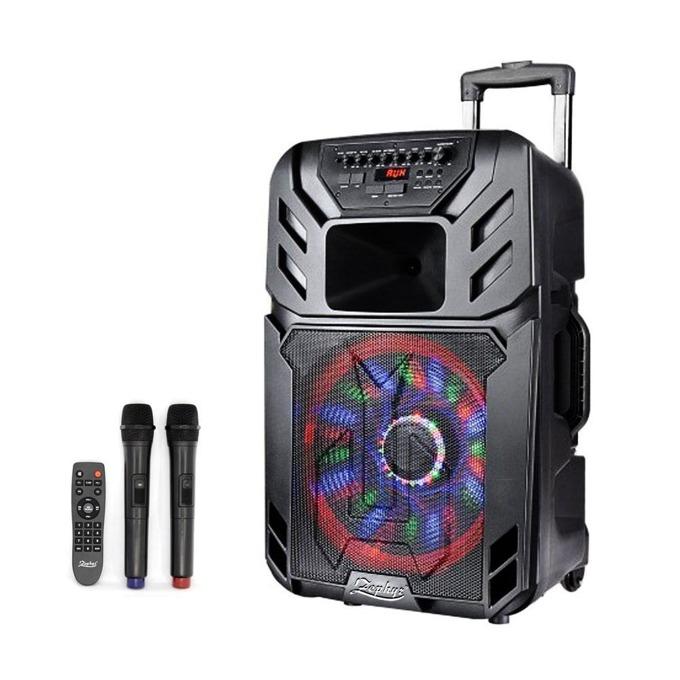 Караоке Тонколона Zephyr ZP 9999 A15, 600W RMS, USB, Bluetooth, SD Card Reader image