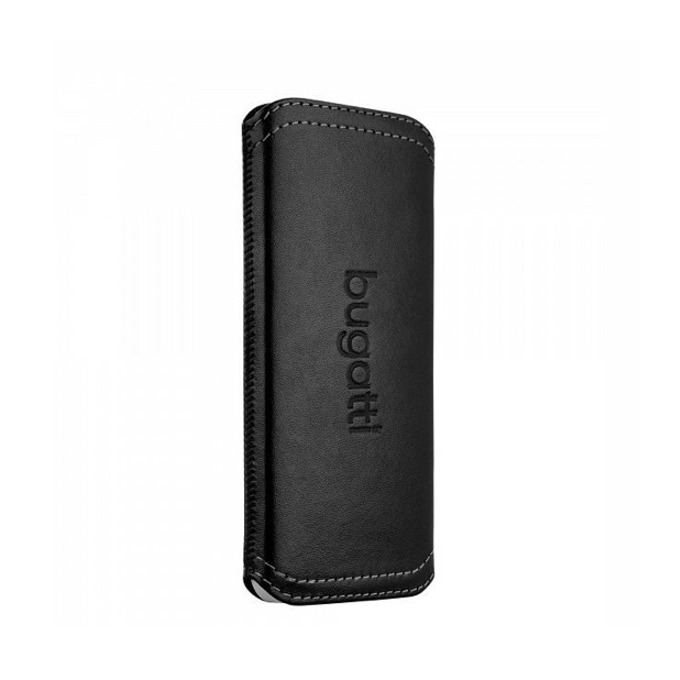 "Калъф ""джоб"" Bugatti TwoWay Leather Case, естествена кожа, за Sony Xperia Z, черен image"