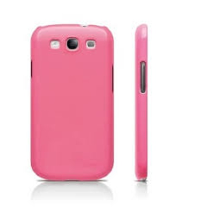 Поликарбонатов протектор Elago G5 Slim Fit Case + HD Clear film за Samsung Galaxy S3, S3 Neo, розов, с HD покритие image