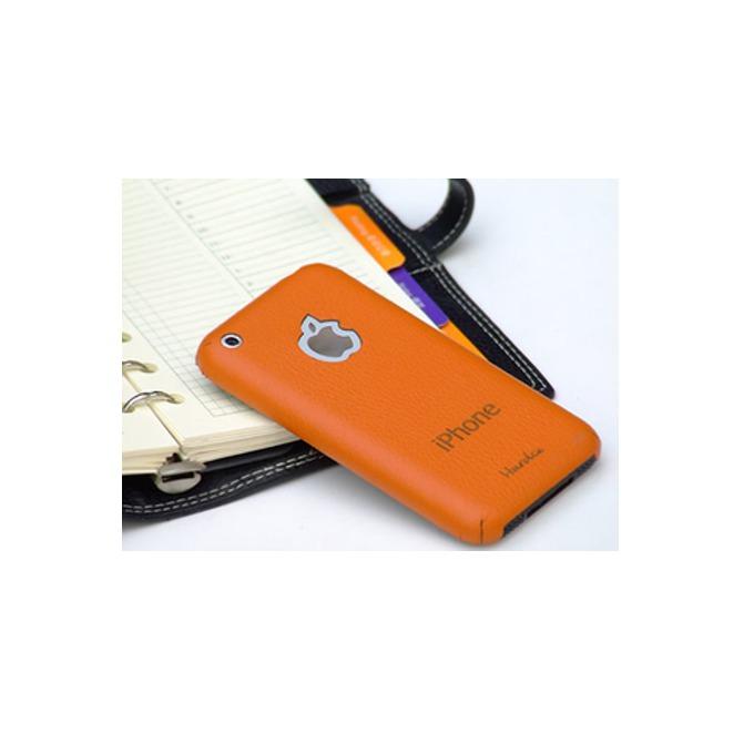 Кожен протектор HardCE iMAT II, оранжев, за iPhone 3G/ iPhone 3GS + скрийн протектор и кърпичка за почистване image