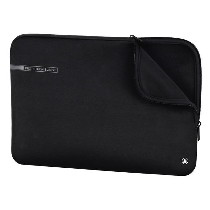 """Калъф за лаптоп Hama Neoprene, за лаптопи до 17.3""""(43.94cm), неопренов, черен image"""