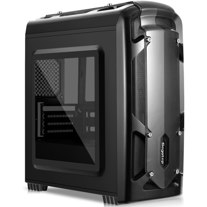 Segotep Polar Light Black Case No PSU