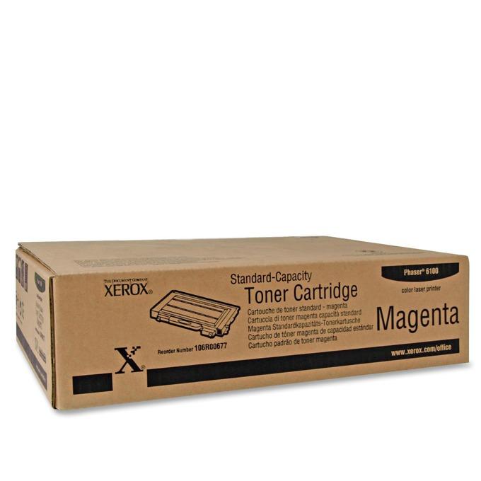 КАСЕТА ЗА XEROX Phaser 6100 - Magenta - P№ 106R00677 - заб.: 2000k image