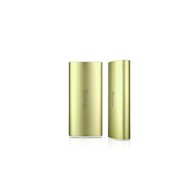 Външна батерия /power bank/ Yoobao 5200 mAh, зелен, с LED фенер image