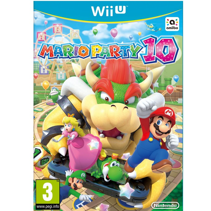 Mario Party 10, за Wii U image