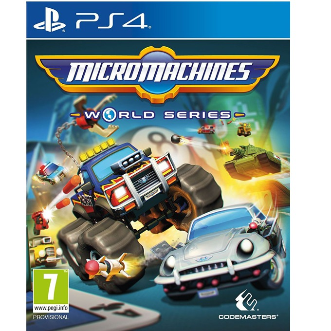 Micro Machines: World Series, за PS4 image