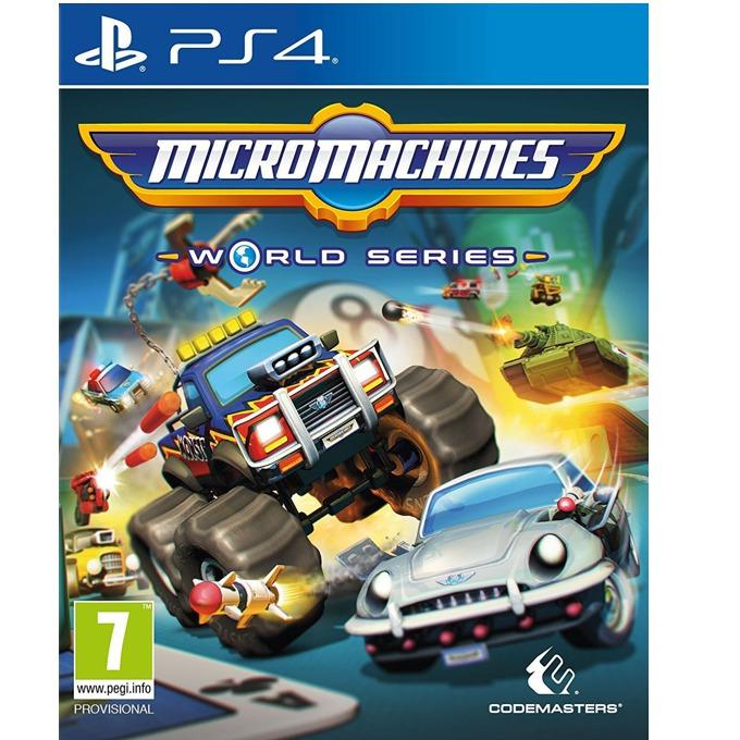 Игра за конзола Micro Machines: World Series, за PS4 image
