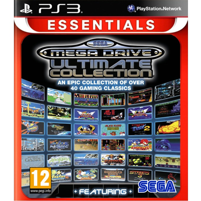 SEGA Mega Drive Ultimate Collection - Essentials, за PlayStation 3 image