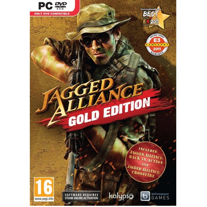Игра Jagged Alliance - Gold Edition, за PC image