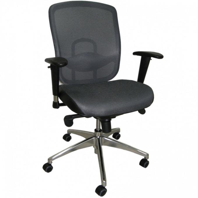 Директорски стол Baristo Chrome, сив image