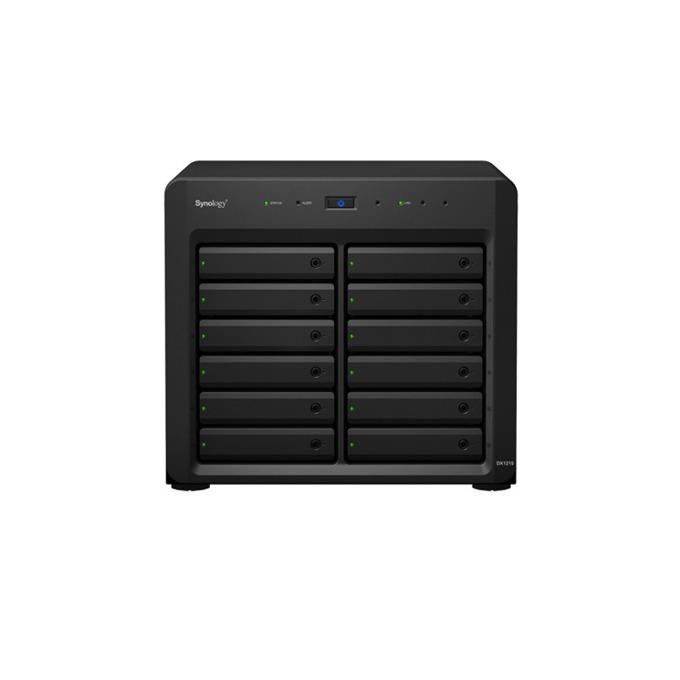 """Разширителен блок Synology DX1215, Expansion unit, 12 bay, без твърд диск (SATA3 2.5""""/3.5""""), 1x Infiniband port DiskStation image"""