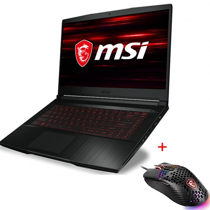 MSI GF65 THIN 10SER-1211XBG + Gaming Mouse M99 product