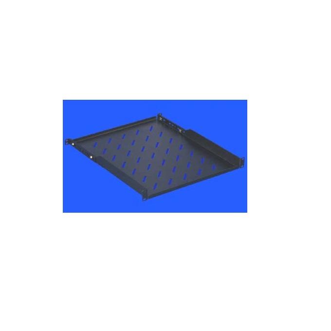 """Рафт Toten SG.2166, 19"""", 1U, 666mm, с удължаващи шини, черен image"""