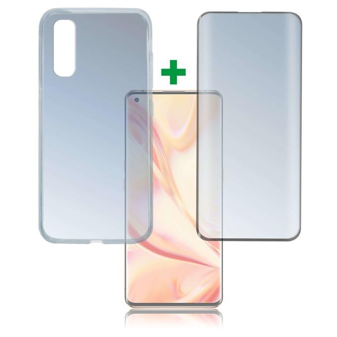 Протектор от закалено стъкло /Tempered Glass/, 4smarts, за Oppo Find X2 Pro, силиконов (TPU) кейс image