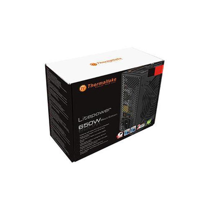 Захранване Thermaltake LitePower, 650W, Active PFC, 120mm image