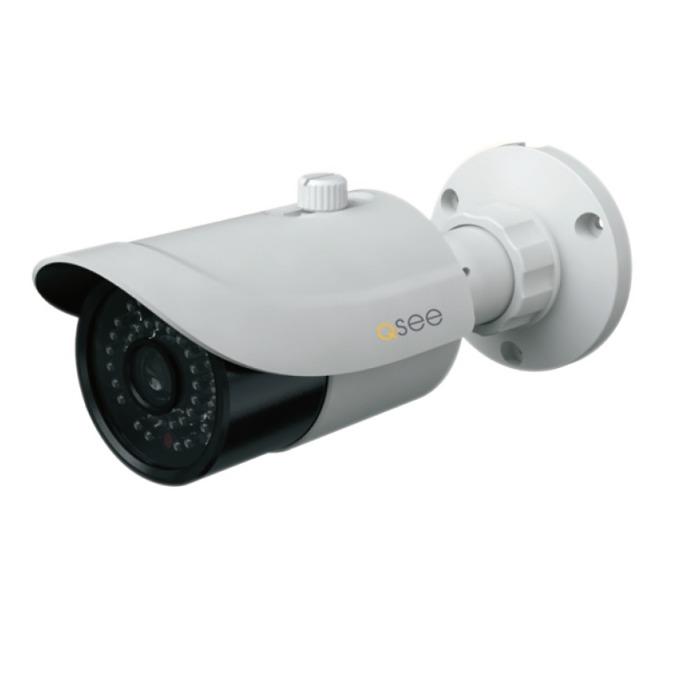 """IP камера Q-See QTN8025B, насочена """"bullet"""", 2 Mpix(1920 x 1080@30FPS), 2.8-12 mm обектив, H.264/M-JPEG, IR осветеност (до 25 метра), външна, IP66 защита, PoE, 1x RJ-45 10/100 image"""