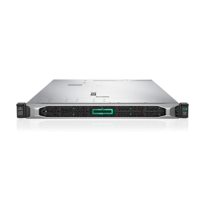 Сървър HPE ProLiant DL360 G10 (PERFDL360-004), дванадесетядрен 2x Intel Xeon-Gold 5118 2.3GHz, 32GB RDIMM & 32GB 2Rx4 PC4, 2x 600GB SAS HDD, DP, VGA, 4x 1GbE, 1x Micro SD, 5x USB 3.0, 2x 800W захранване image