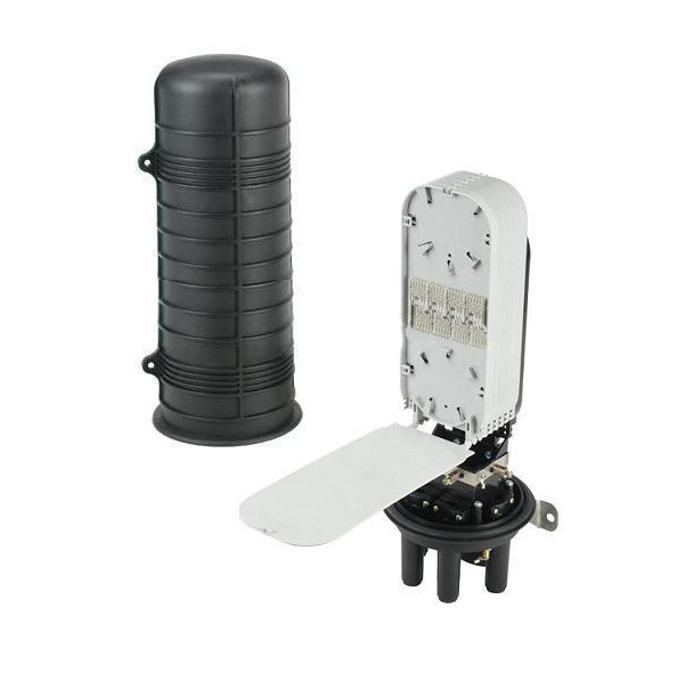 Муфа SeaMAX GPJ-08V5, 24 оптични влакна, 4 кръгли порта и 1 голям овален порт, подземно или директно полагане image