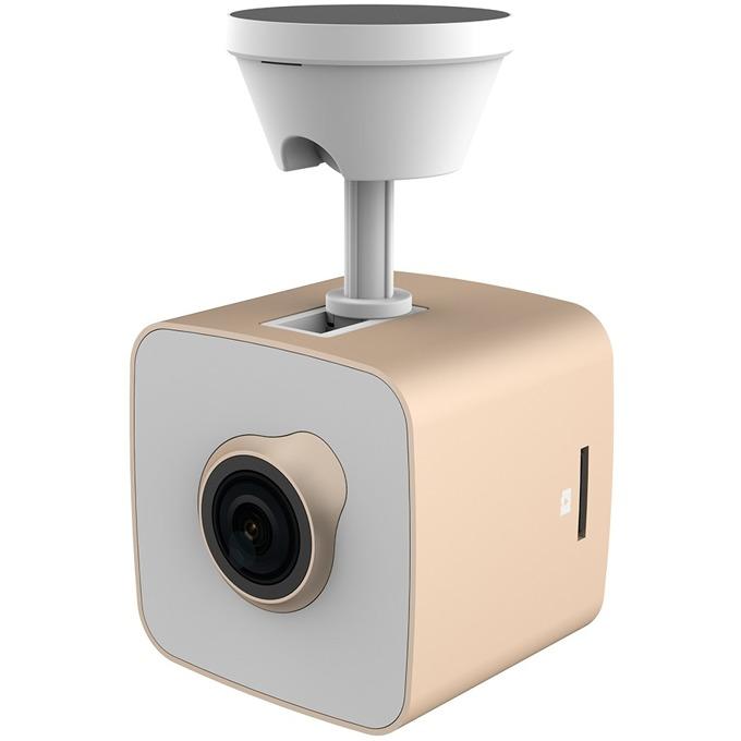 "Видеорегистратор PRESTIGIO RoadRunner CUBE Gold, камера за автомобил, Full HD, 1.5"" (3.8 cm) TFT дисплей, 64MB вградена памет, Micro SD, Micro-USB 2.0, Wi-Fi image"