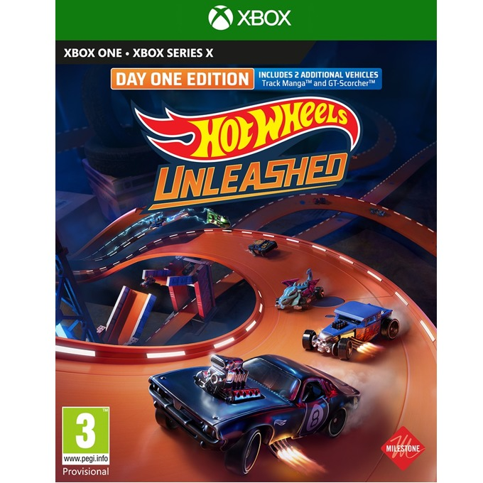 Hot Wheels Unleashed Day One Edition Xbox One product