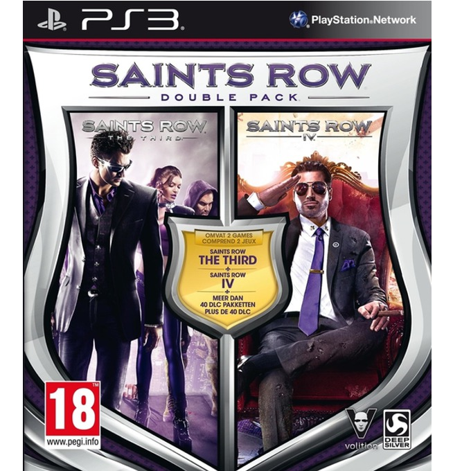 Saints Row IV Double Pack, за PS3 image