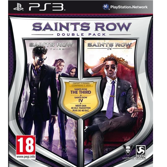 Игра за конзола Saints Row IV Double Pack, за PS3 image