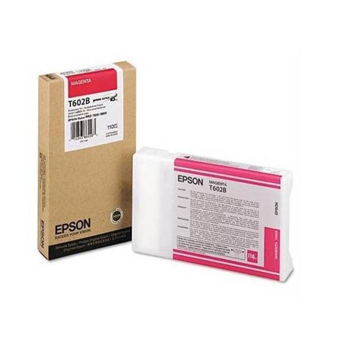 Глава за Epson Stylus Pro 7880/9880 - Magenta - P№ C13T602B00 - Заб.: 110 ml. image
