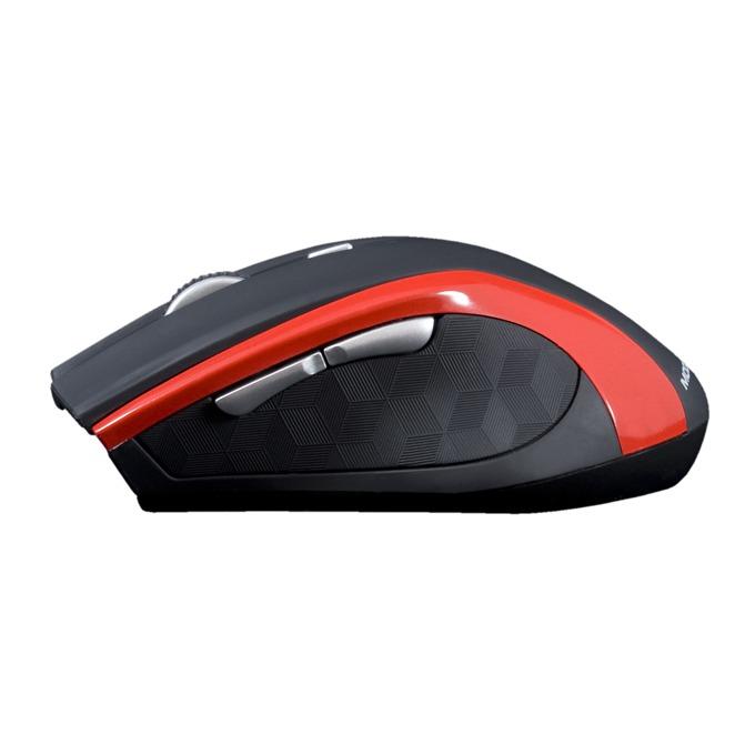 Мишка Modecom WM5 , оптична (1600 dpi), (черно и червено) image