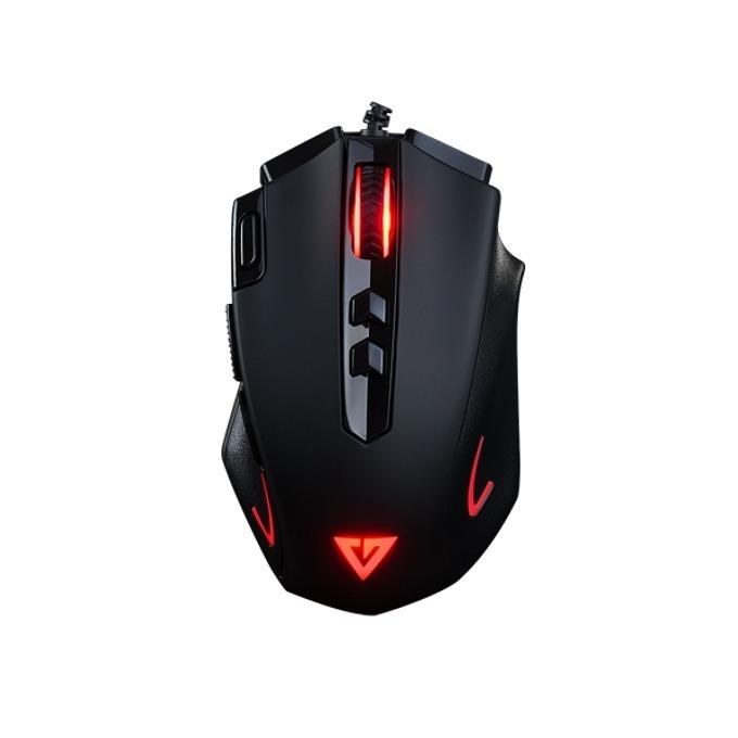Мишка Modecom Volcano MC-GMX3 Gaming, оптична(4000 dpi), USB, черна, 8 бутона image