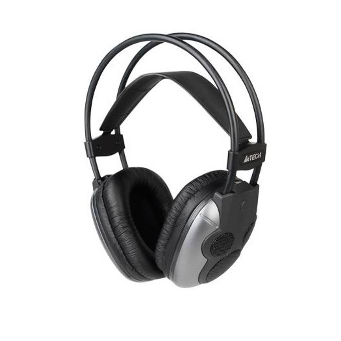 Слушалки A4 Tech HU-510, черни, микрофон, 5.1 Surround, USB image