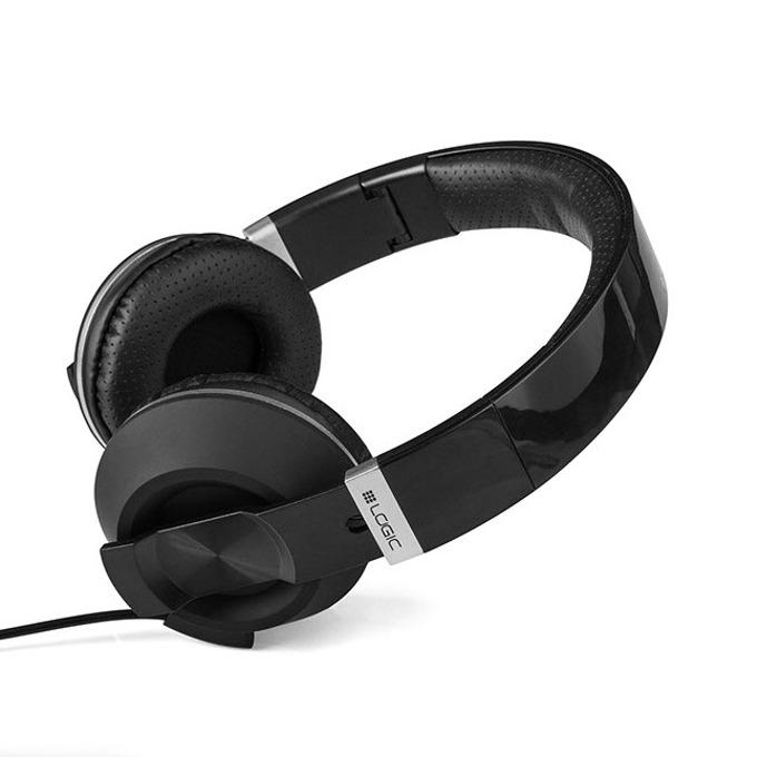 Слушалки LOGIC MH-8, микрофон, 1,5м кабел, черни image