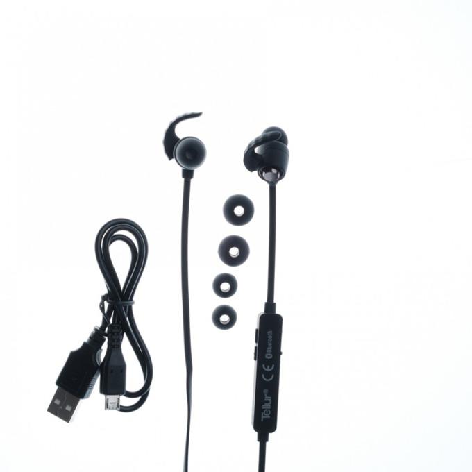 Слушалки Tellur In-Ear Sport Tellur, Speed series, Bluetooth, черни  image