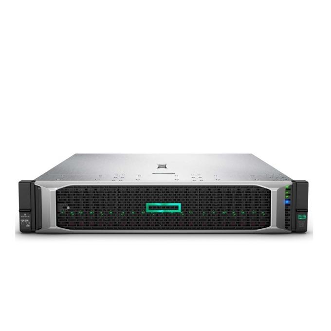 Сървър HPE ProLiant DL380 G10 SOLUDL380-007, десетядрен, 2x Intel Xeon Silver 4210 2.2 GHz, 2x32GB-R, без твърд диск, 1x DP, 1x Micro SD, 1x Front iLO SP, 5x USB 3.0, 2x 800W захранване image
