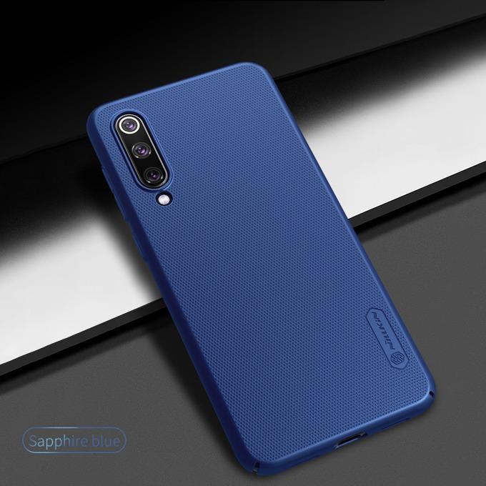 Калъф за Xiaomi Mi 9 SE, твърд гръб, Nillkin Frost Shield, син image