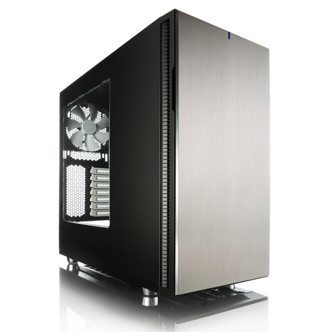 Кутия Fractal Design Define R5 Titanium Window, ATX/Micro-ATX/Mini-ITX, 2x USB 3.0, прозорец, без захранване image