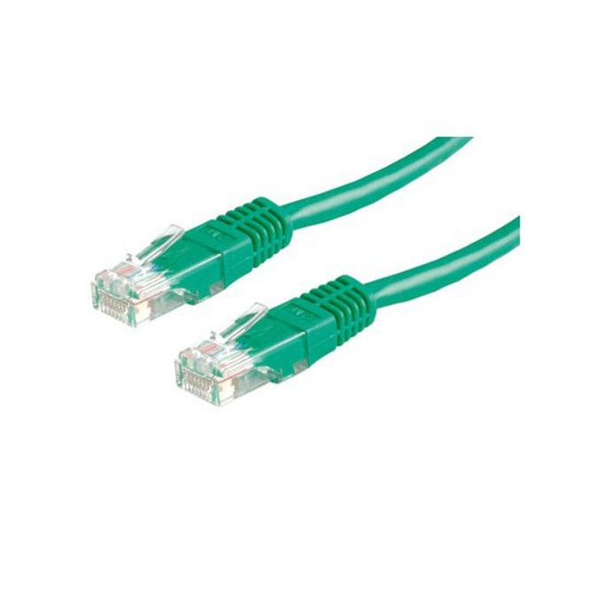 Пач кабел, Roline, FTP, Cat.5e, AWG26, 3m, зелен image