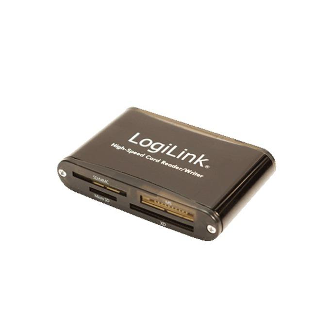 Четец на карти LogiLink CR0013, USB 2.0, SD-HC, черен image