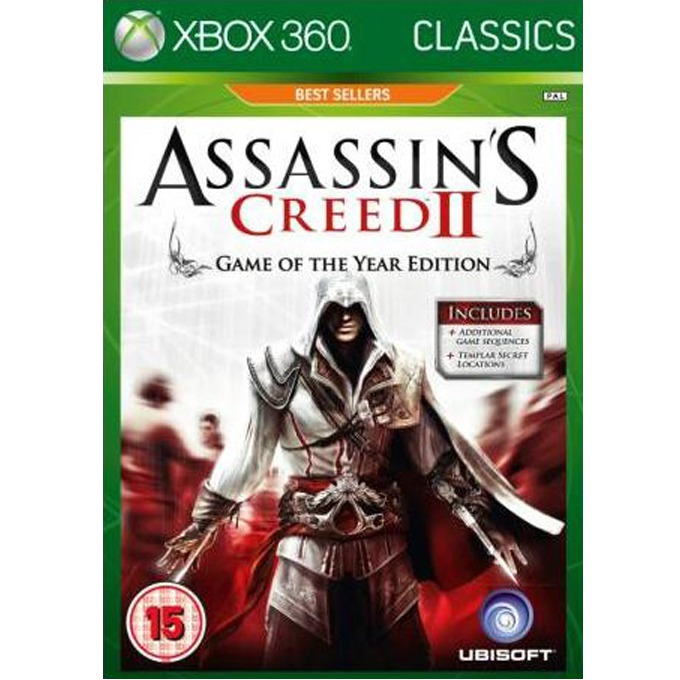 Assassins Creed II: GOTY - Classics, за XBOX360 image