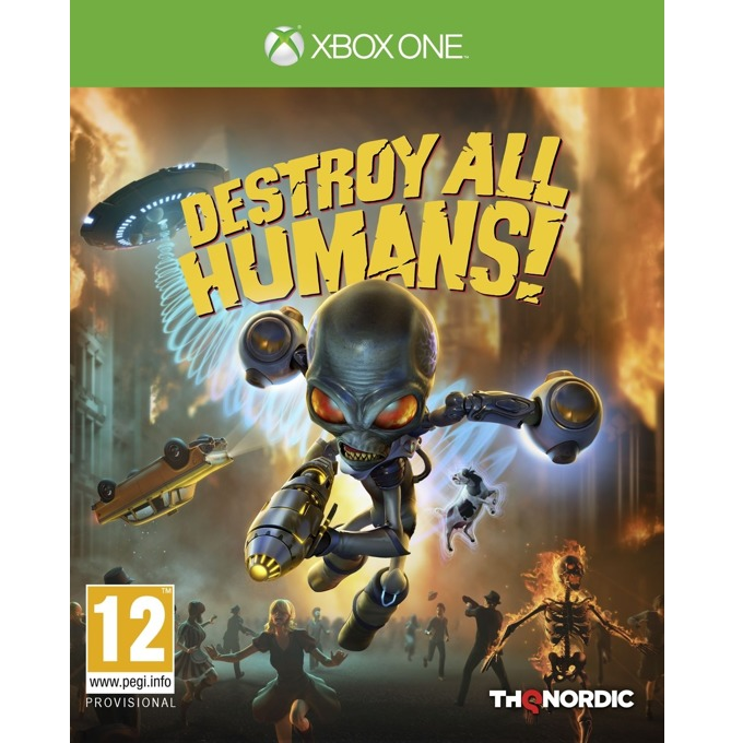 Игра за конзола Destroy All Humans!, за Xbox One image