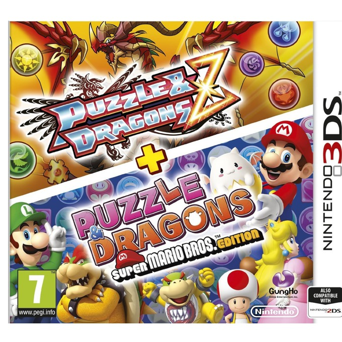 Puzzle and Dragons Z + Puzzle and Dragons Super Mario Bros, за 3DS image