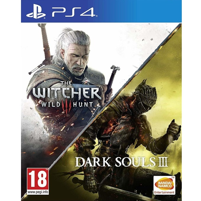 The Witcher 3 Wild Hunt + Dark Souls III, за PS4 image