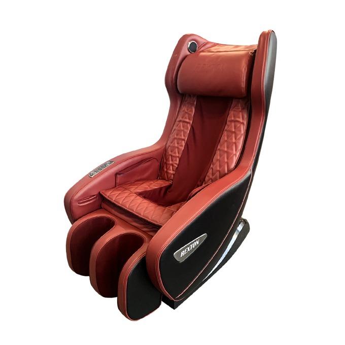 Масажен стол Rexton RK-1900B-RED, 4 масажни глави, еко кожа, въздушни помпи, червен/черен image