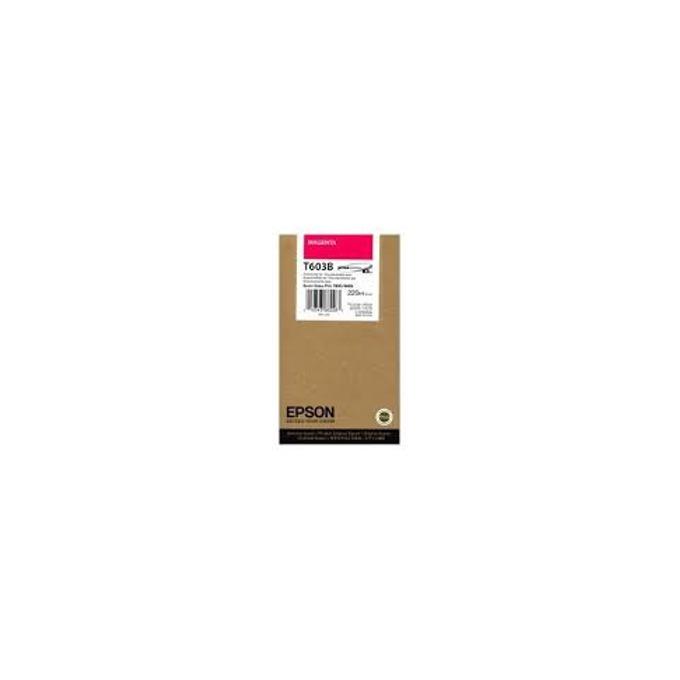 ГЛАВА ЗА EPSON STYLUS PRO 7800/9800 - T603B - Magenta - P№ C13T603B00 - 220 ml image