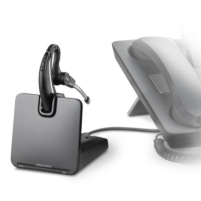 Слушалки Plantronics CS530, безжични, шумоизолиращ микрофон, DSP, DECT image